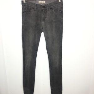 Madewell Black Skinny Skinny Jean Size 26